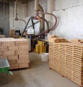 Производство на буков паркет